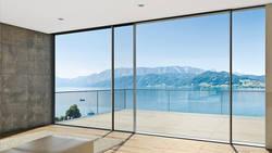 Алюминиевые окна как стильный и практичный дизайнерский элемент