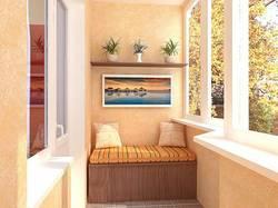 Балкон с комфортом