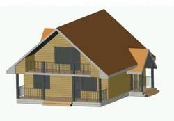 Чертежи домов с мансардой: и возле камелька погреться, и в баньке попариться