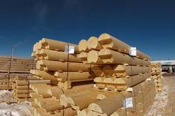 Деревянные дома: только плюсы для оцилиндрованных бревен