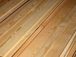 Характеристики вагонки из древесины сибирской лиственницы