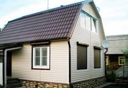 Как обшить сайдингом деревянный дом после его утепления