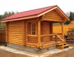 Как построить баню в деревне