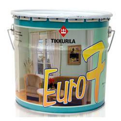 Краска Тиккурила Евро 7 для окрашивания поверхностей в сухих помещениях