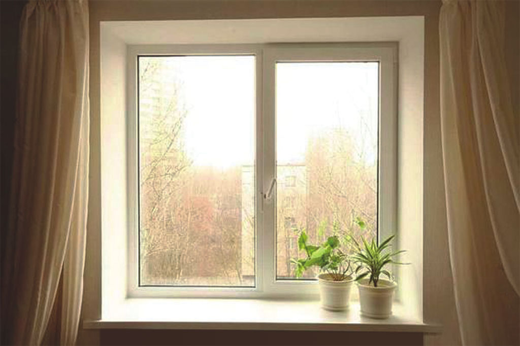 Пластиковое окно для многоэтажки