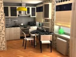 Особенности ремонта кухни в панельном доме