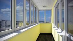 Остекление балконов и лоджий от компании «Золотой Дом»