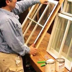 Реставрация деревянных окон до полного восстановления