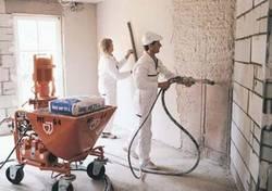 Строительные смеси для штукатурки стен: сухой вариант
