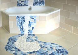 Укладка мозаичной плитки + ВИДЕО