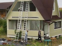 Жизнь, как в сказке: фото домов, обшитых сайдингом