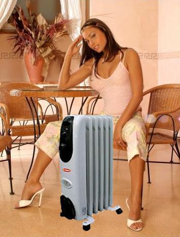 Масляный радиатор - тепло в доме