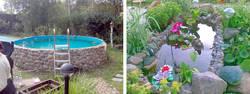 Бассейны для дома и дачи: каркасные, надувные, естественные — выбор, строительство, установка