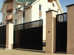 Чем удобны откатные ворота