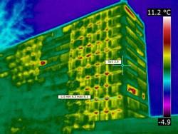 Для чего нужна тепловизорная съемка зданий и сооружений