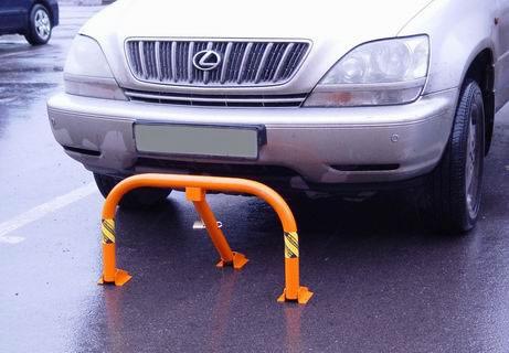 Съемный парковочный столбик