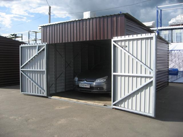 Благоустроенный гараж