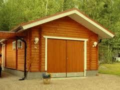Деревянный_гараж