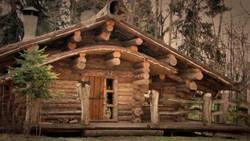 Лесной домик: шале русского охотника