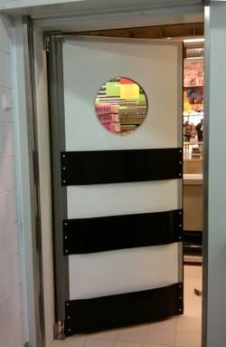 Маятниковые двери как минимизация потерь тепла