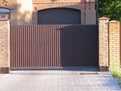 Надёжные и удобные откатные ворота