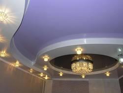 Натяжные потолки актуальны в любом помещении