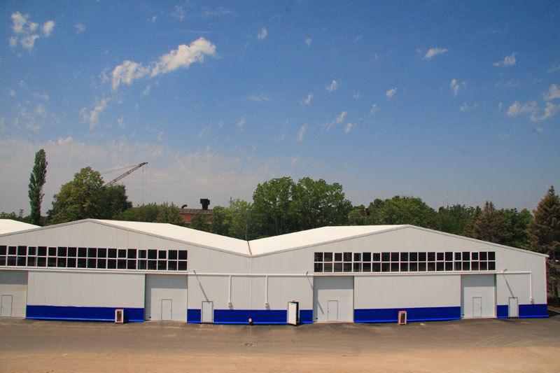 Закажите быстровозводимый склад в компании Эвриал