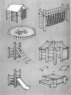 План детской площадки