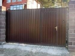 Почему пользуются спросом именно откатные ворота