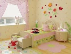 Подбираем дизайн детской комнаты для девочки