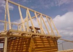 Стропила для бани своими руками: односкатный и двухскатный вариант крыш