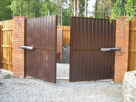 Автоматические ворота для вашей дачи