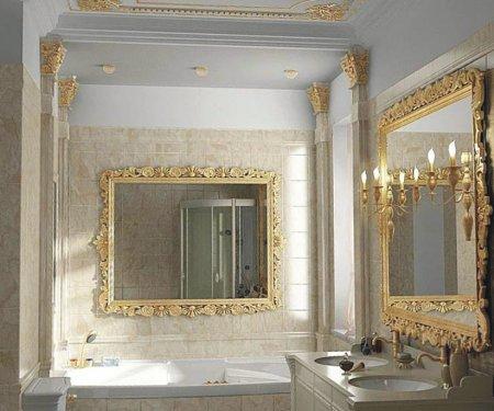 Дизайн интерьера в ванной комнате