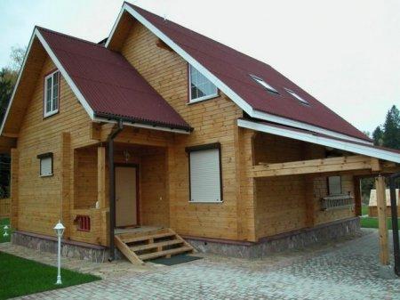 Дом из бруса — плюсы и минусы