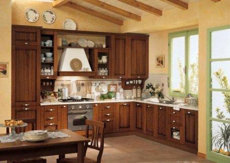 Интерьер кухни в классическом стиле — полезные советы