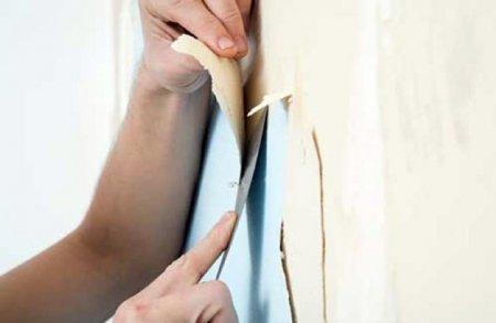 Как ободрать обои со стены