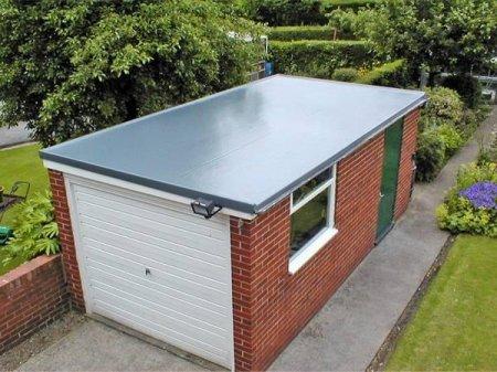 Крыша из оцинкованного плоского листа – надежно, дешево, красиво