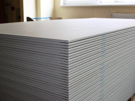 Лист гипсокартона: гипсокартонные и гипсоволокнистые плиты