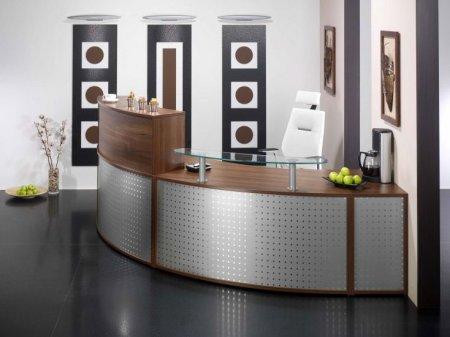 Мебель для ресепшна в офисе