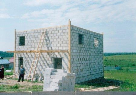 Особенности проектов домов из пенобетона