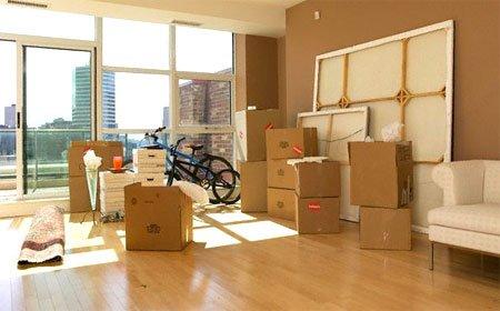 Переезд из дома в квартиру