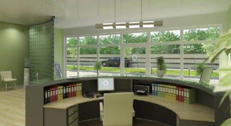 Пластиковые окна для офисных помещений