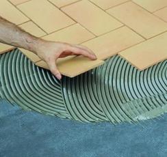 Плиточный клей - лучший помощник при ремонте
