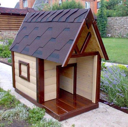 Подробная инструкция для строительства будки для собаки