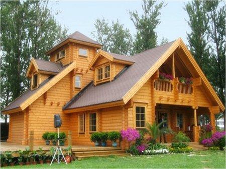 Преимущества дома из елового бруса