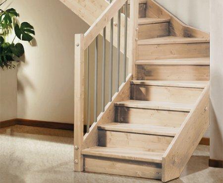 Преимущества лестницы из лиственницы