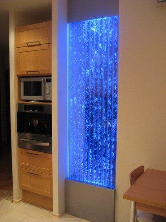 Пузырьковая панель в современном интерьере