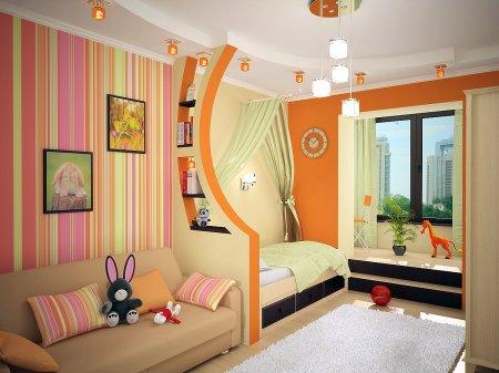 Ремонт детского помещения