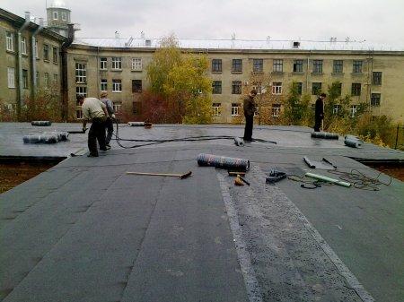 Ремонт и обработка крыши