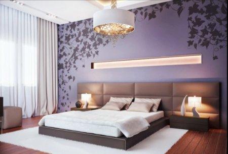 Современный дизайн спальной комнаты